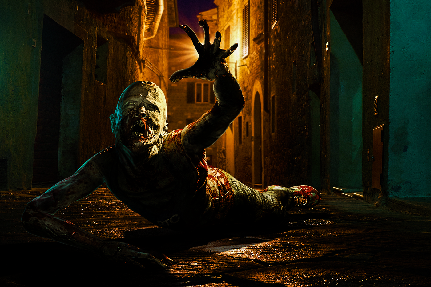 3D Zombie in Adobe Fuse CC on Behance