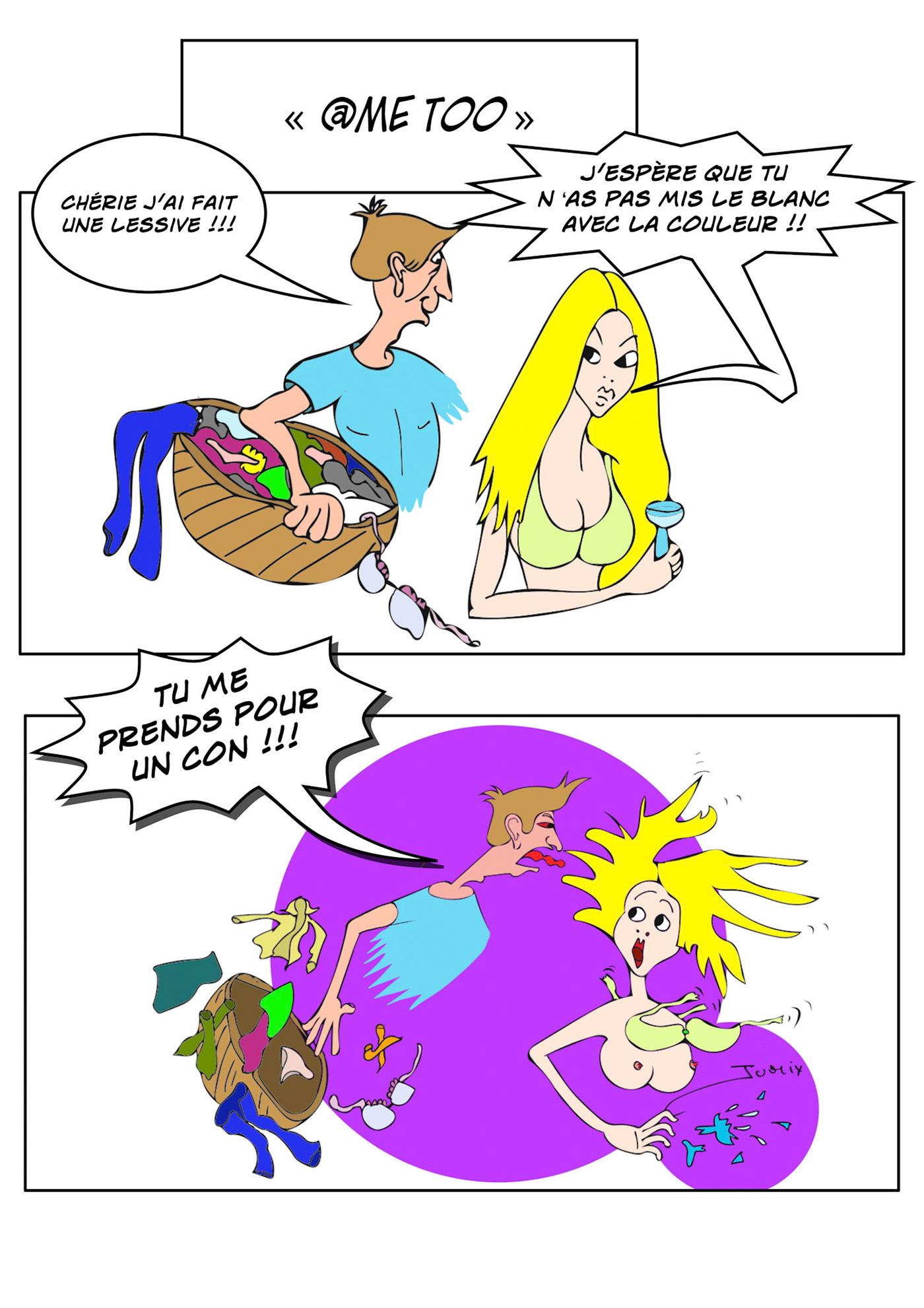 Image may contain: cartoon, drawing and comic