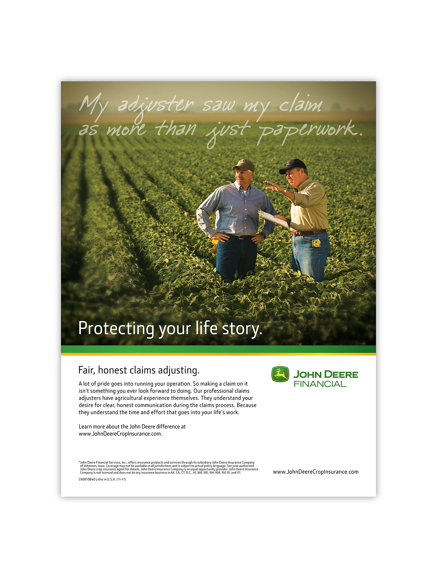 John Deere Financial - Life Story Campaign on Behance