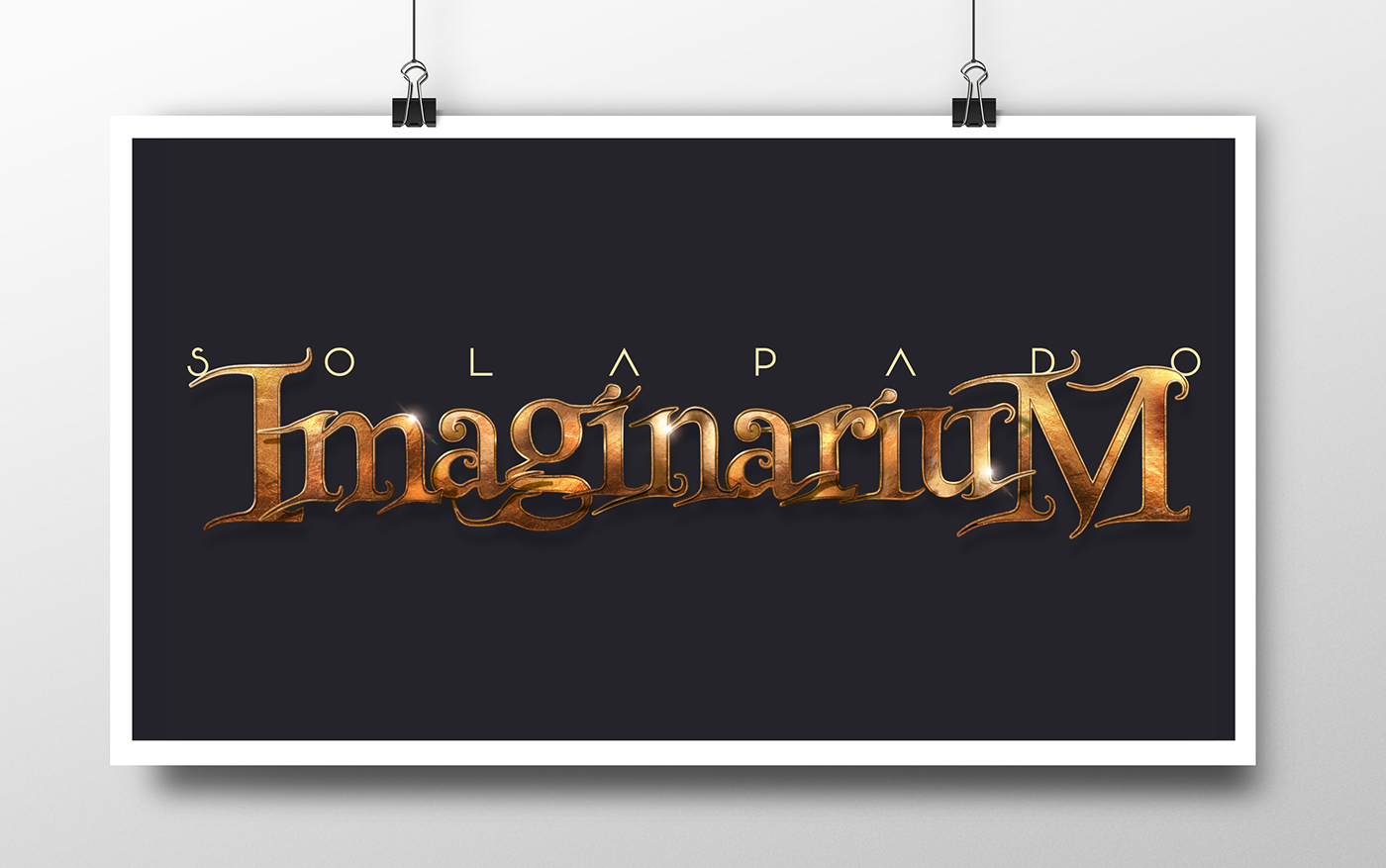 photoshop lettering logo crafting church campaign graphic Advertising