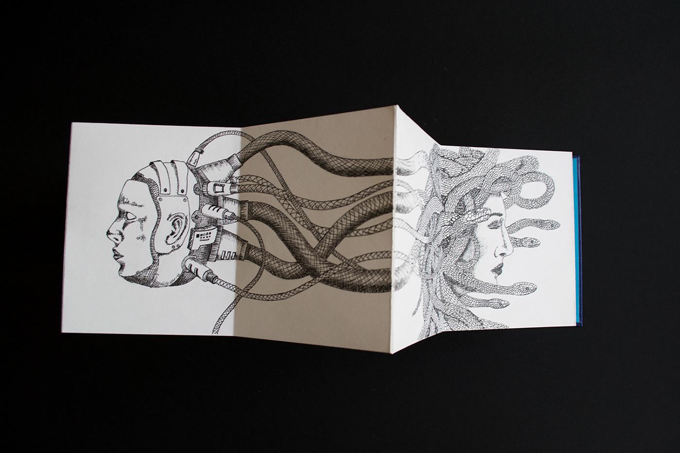 Libro Artista Drawing  dibujo ilustracion