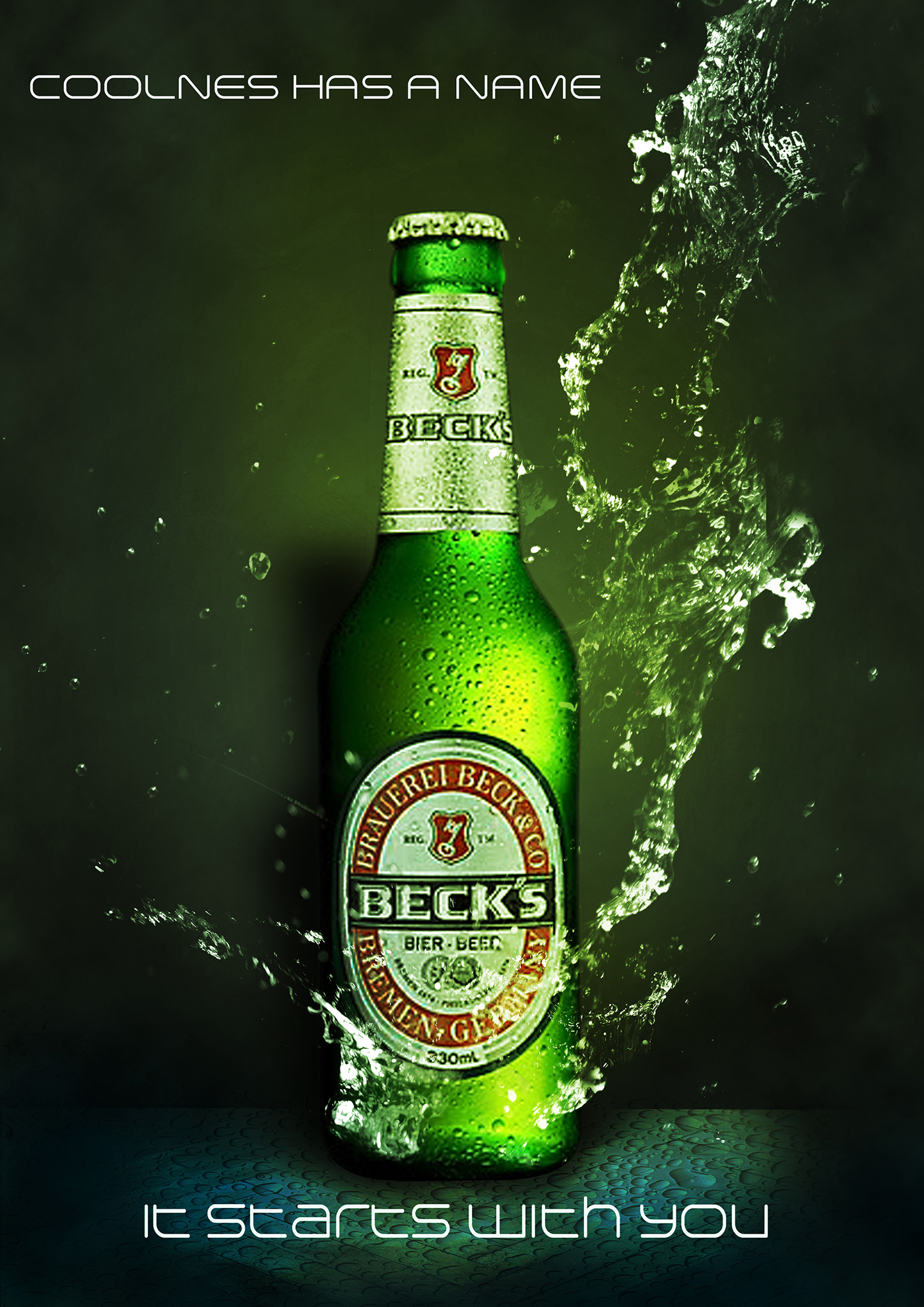 Becks Ad Tuts On Behance