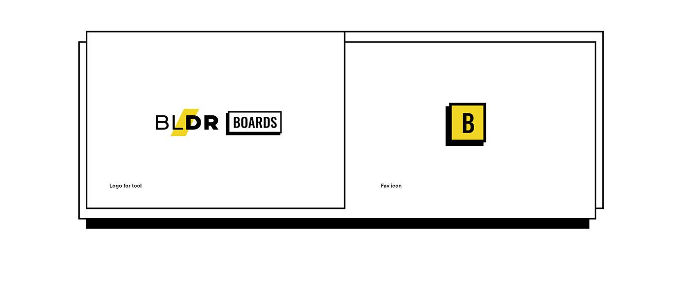 boards Collaboration free Tool landing remote Retro shape typography   ui design UX design