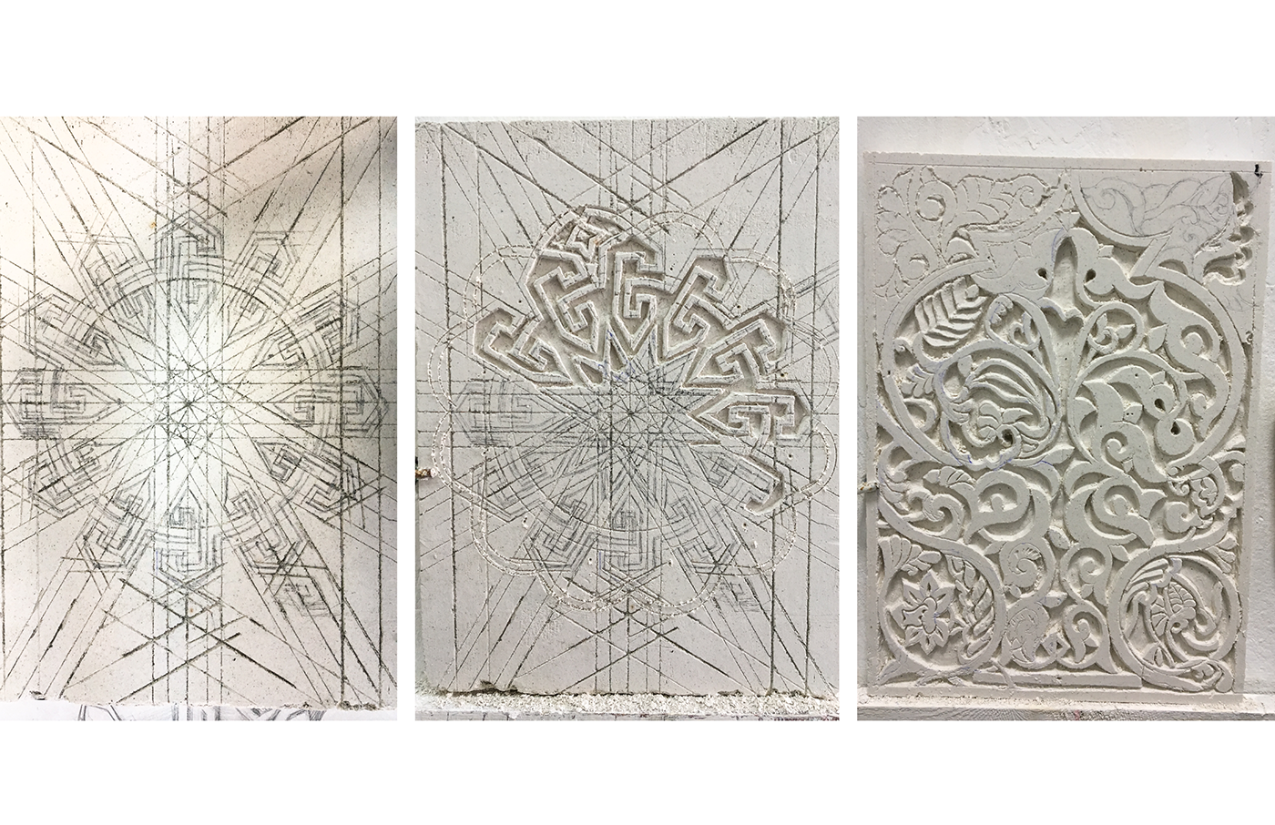 Culture Fusion Plasterwork Morocco-Craft in the City on Behance