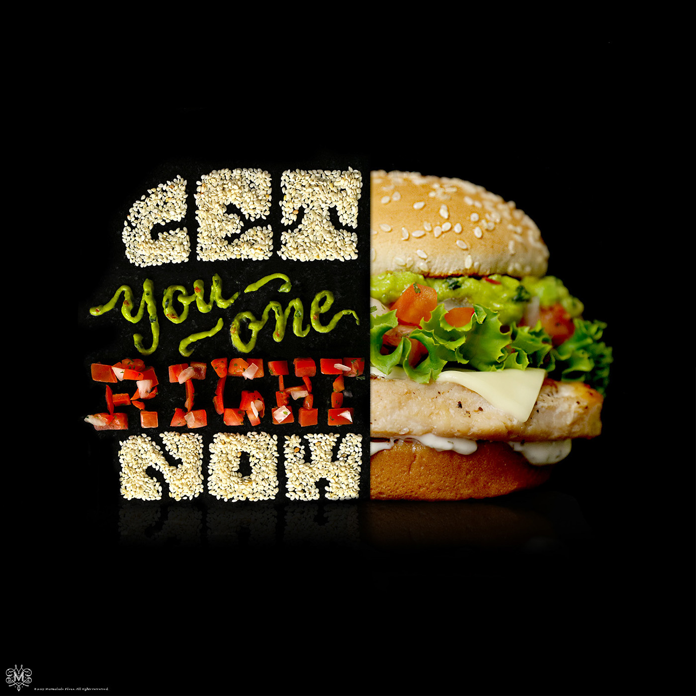 food lettering food typography typography   social media lettering HAND LETTERING social campaign Food  food art motion
