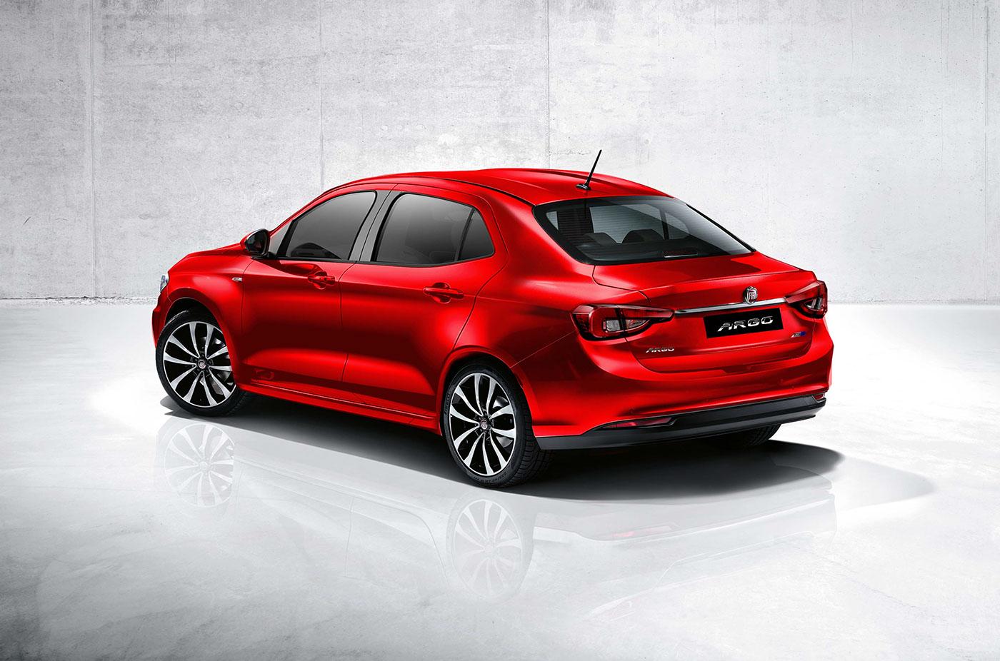 Fiat Argo Sedan On Behance