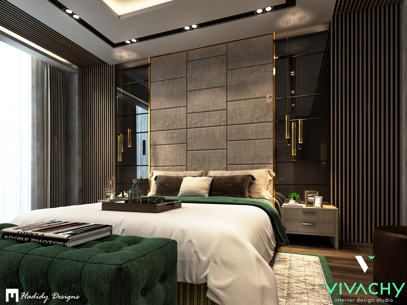 Modern Contemporary Bedroom In New Cairo On Behance