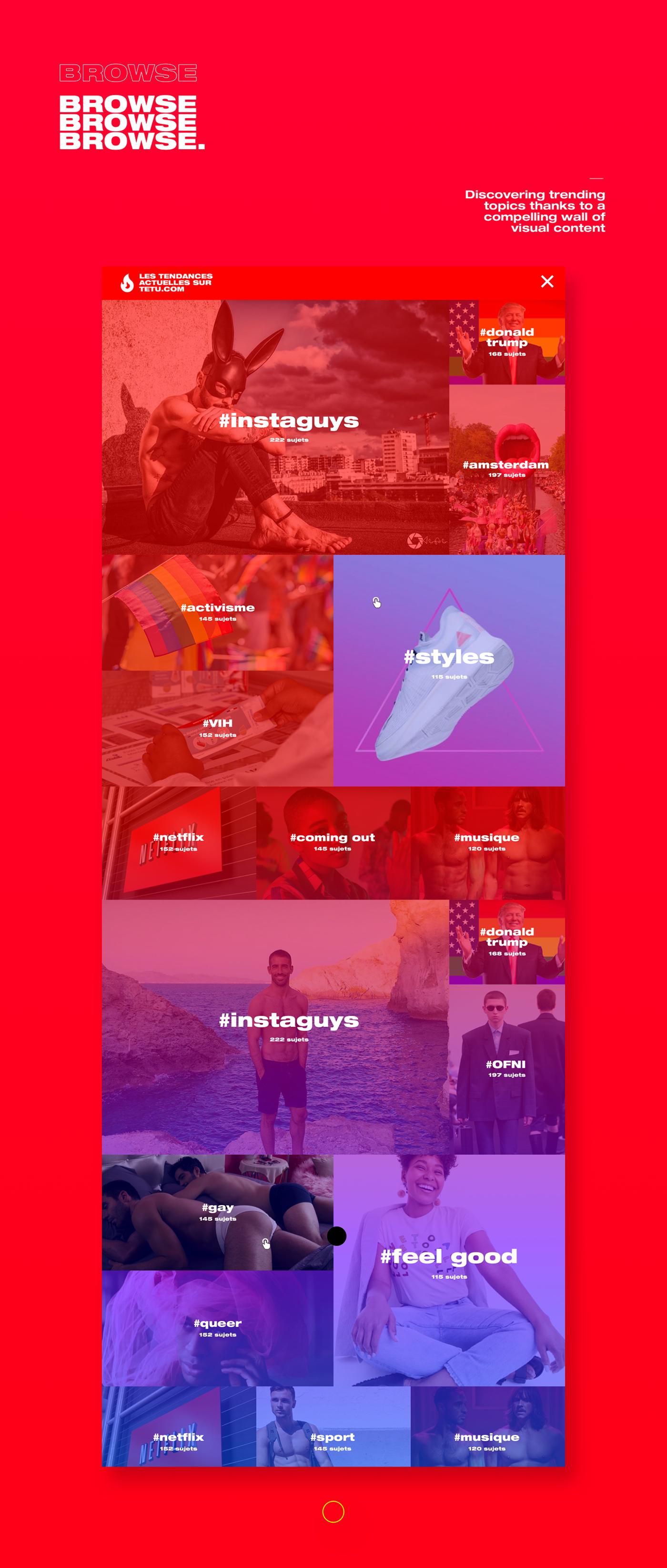 media,publishing  ,news,magazine,LGBT,branding ,UI,ux
