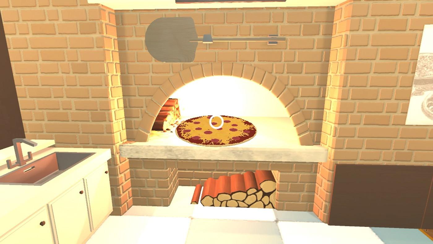 Daydream cardboard Google cardboard google daydream unity unity3D Pizza pizze chef cooking