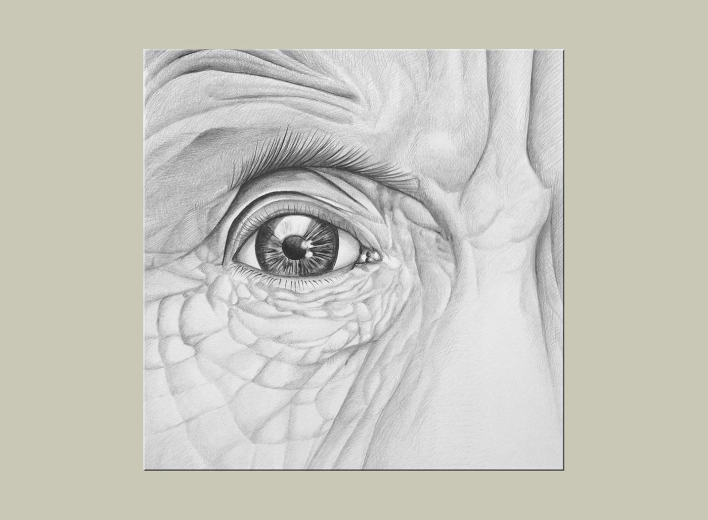 Pastels Dessins au crayon crayon dessin portrait réaliste