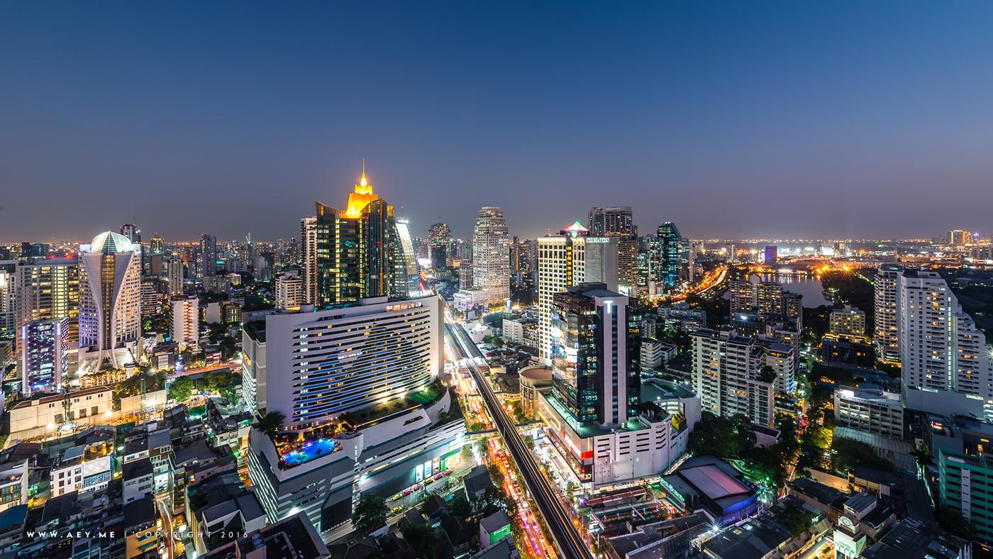 Rooftop Bars For Bangkok Cityscape Photography On Behance