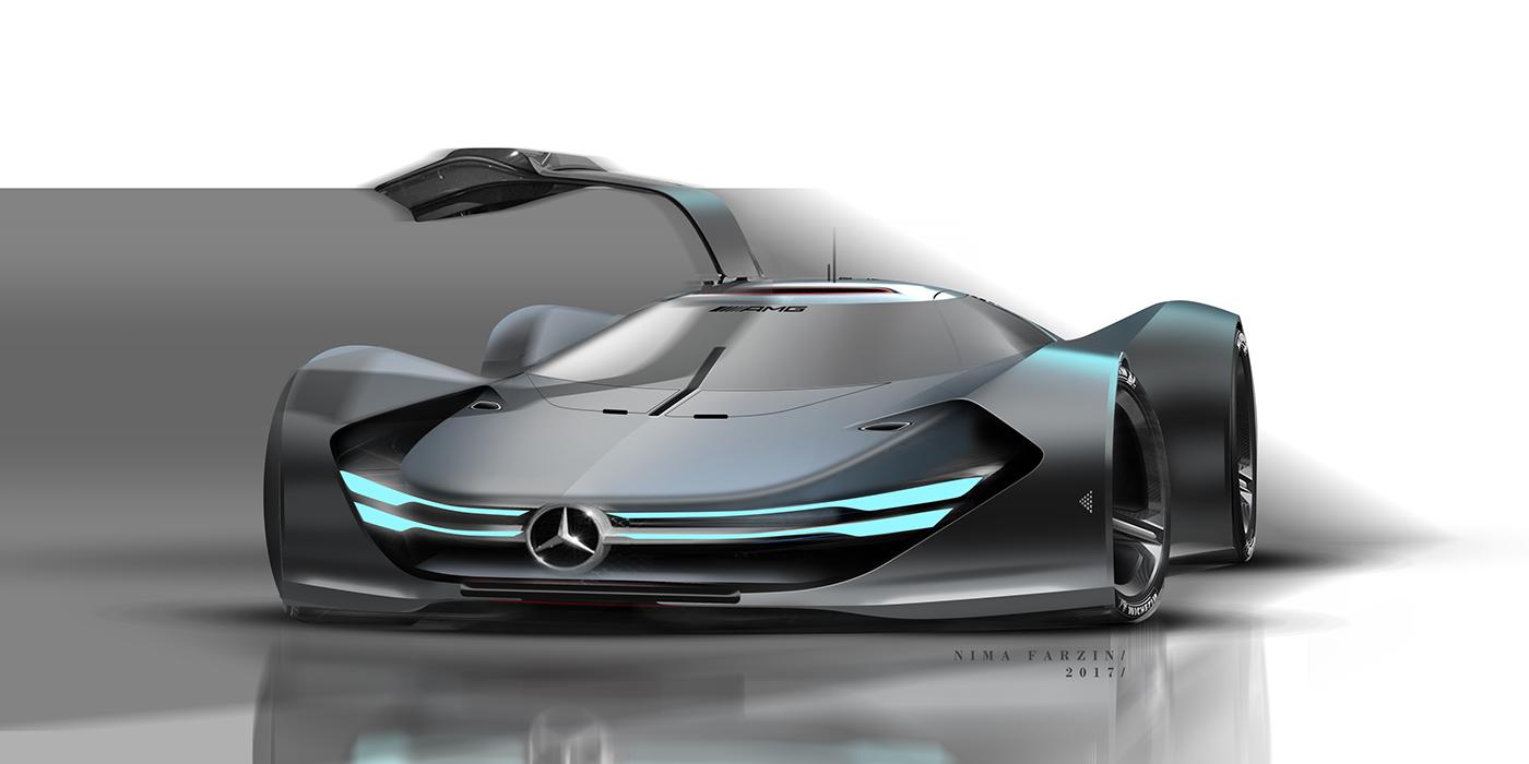 car rendering on behance. Black Bedroom Furniture Sets. Home Design Ideas