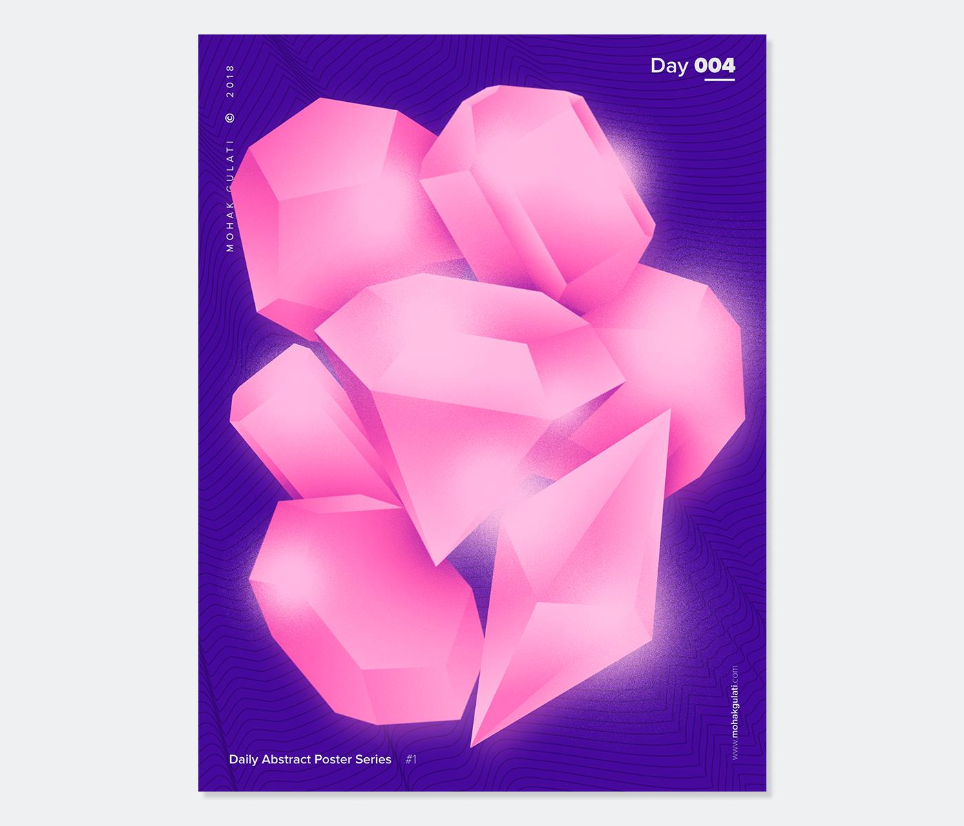 abstract poster Baugasm vasjen katro Weekly series adobeawards