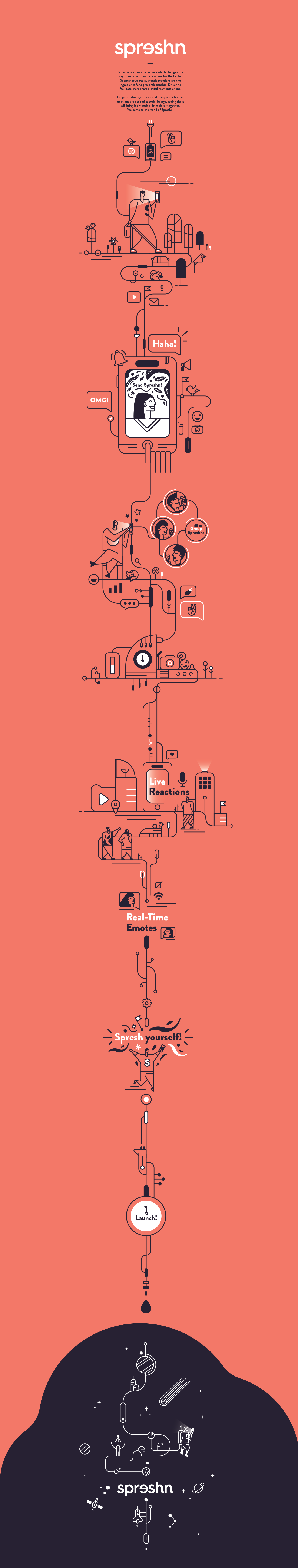 UI graphic design ILLUSTRATION  app vector branding  brand modern sketch