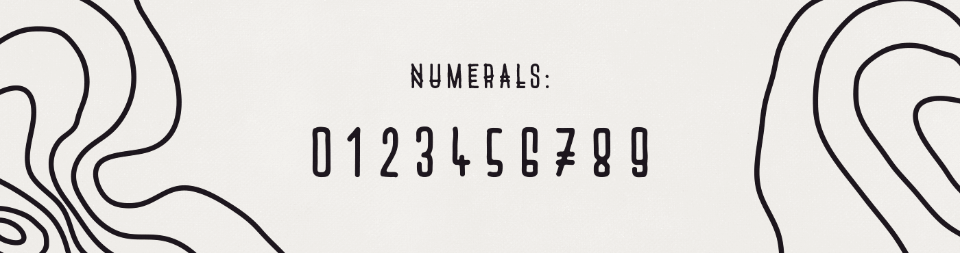 Nazaré font free rounded tribal hand handmade condensed natural wave download experimental