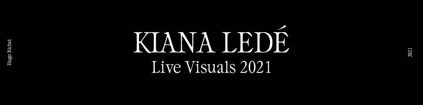 3D animation  dali hip hop Jenna Marsh kiana ledé live show oniric surrealism tour