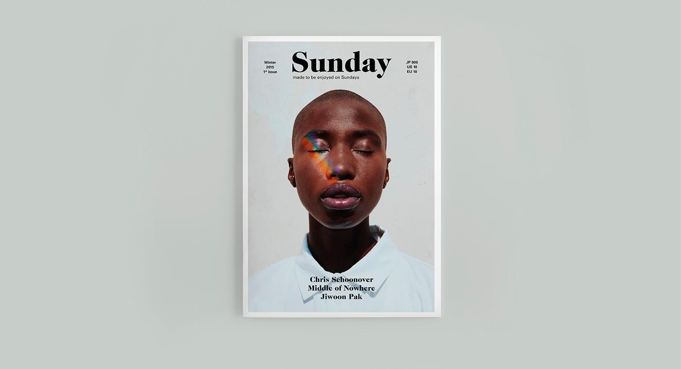有美感的33款雜誌排版範本欣賞