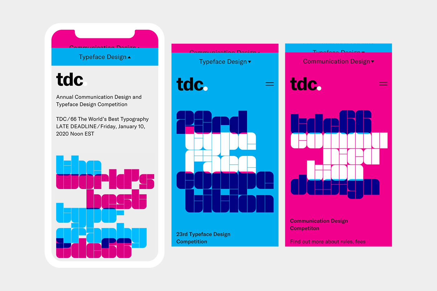 interactive interfase Web Design  graphic design  typography