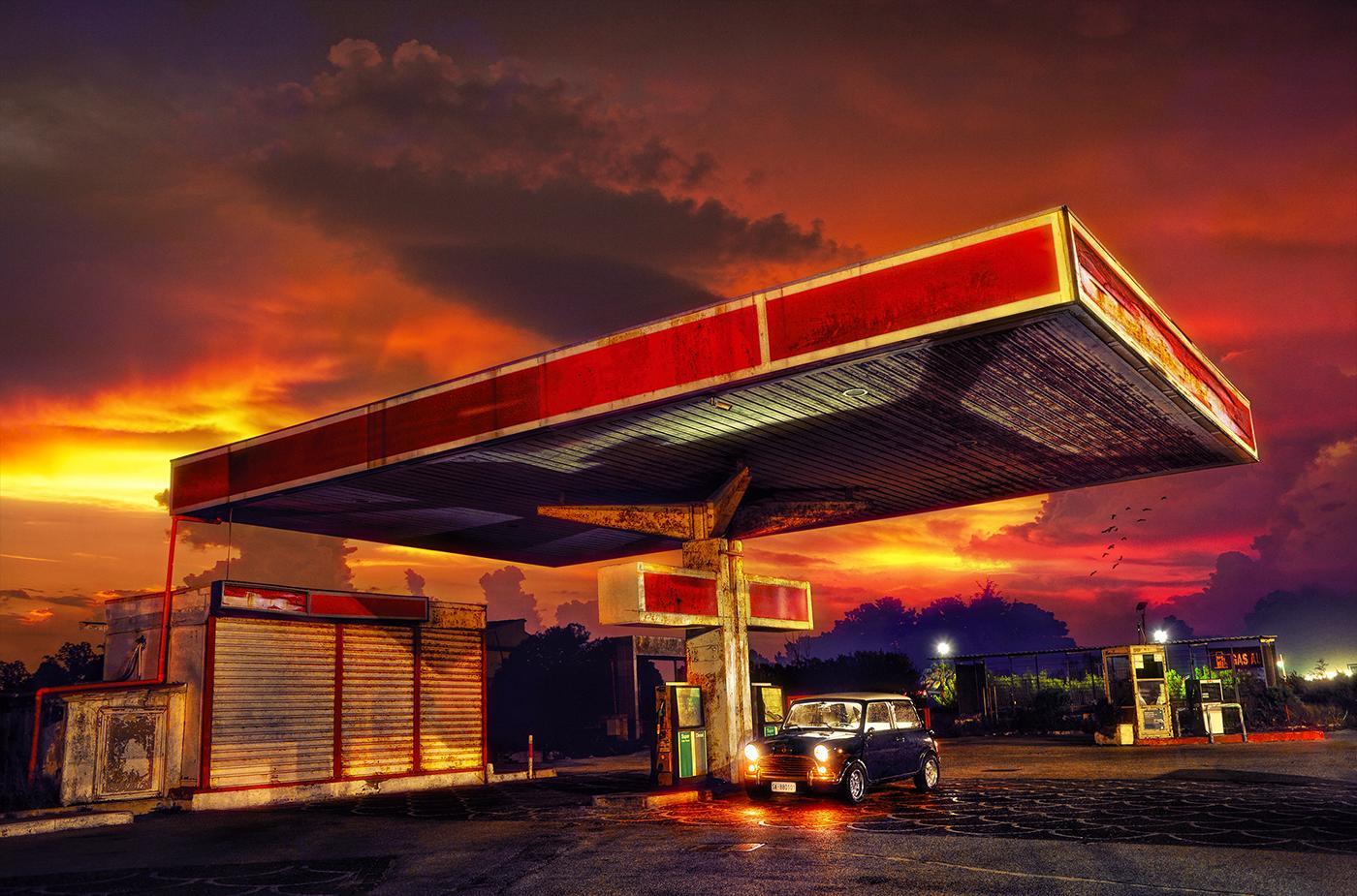 Gasoline Gas Station On Behance