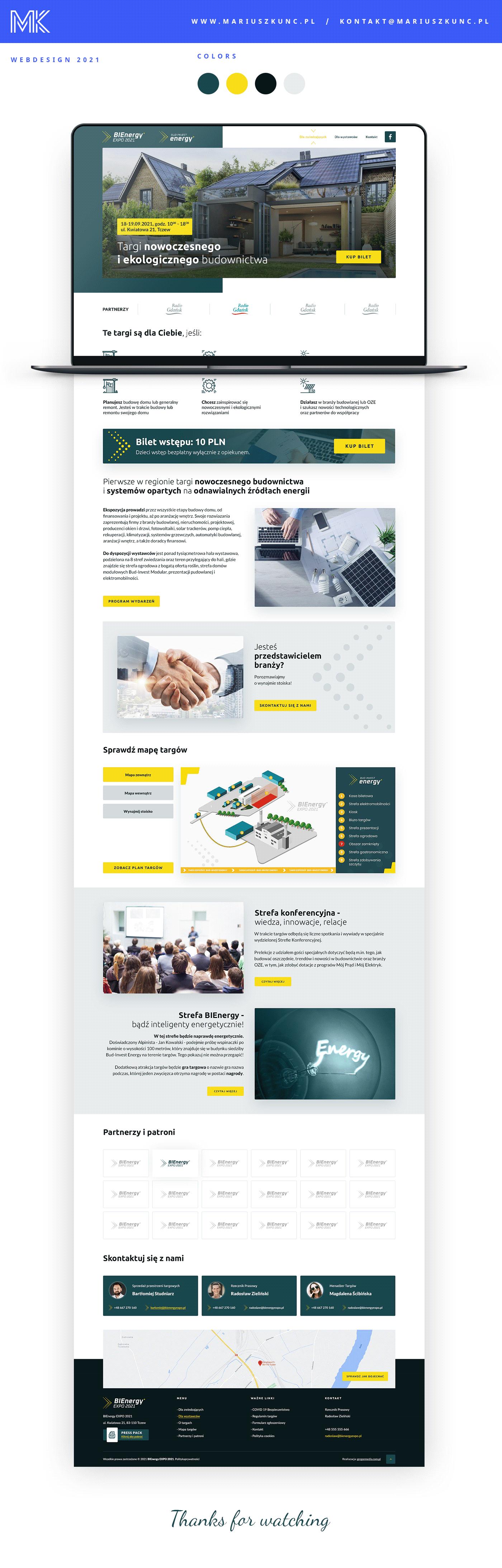 energy Experience landing page UI ui design UI/UX uidesign user interface ux Web Design