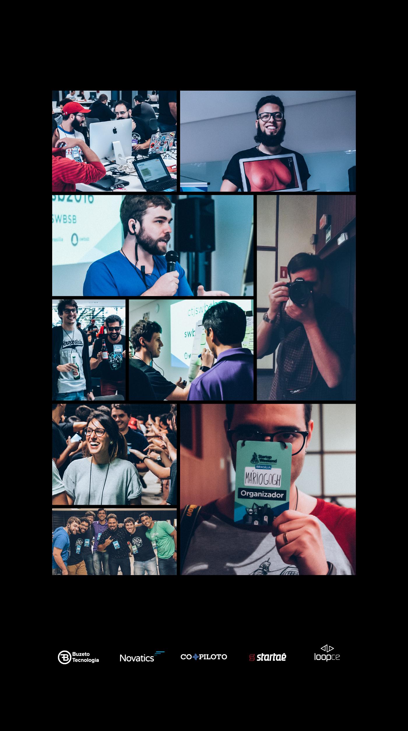 Event identity startups Socialmedia