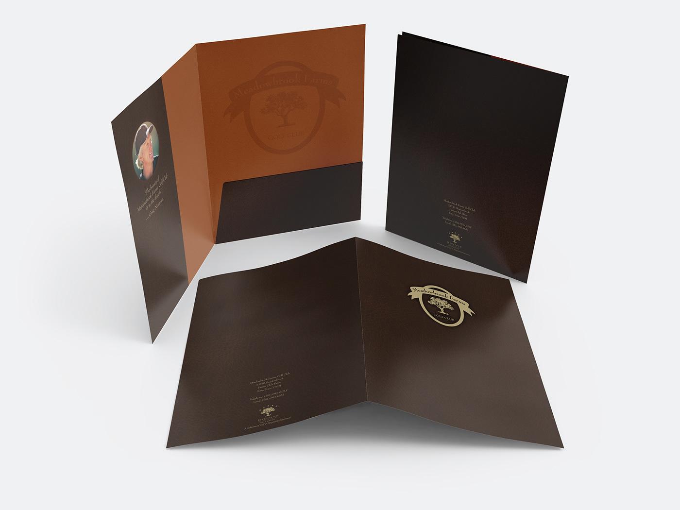 folder,golf,Greg Norman,pocket folder
