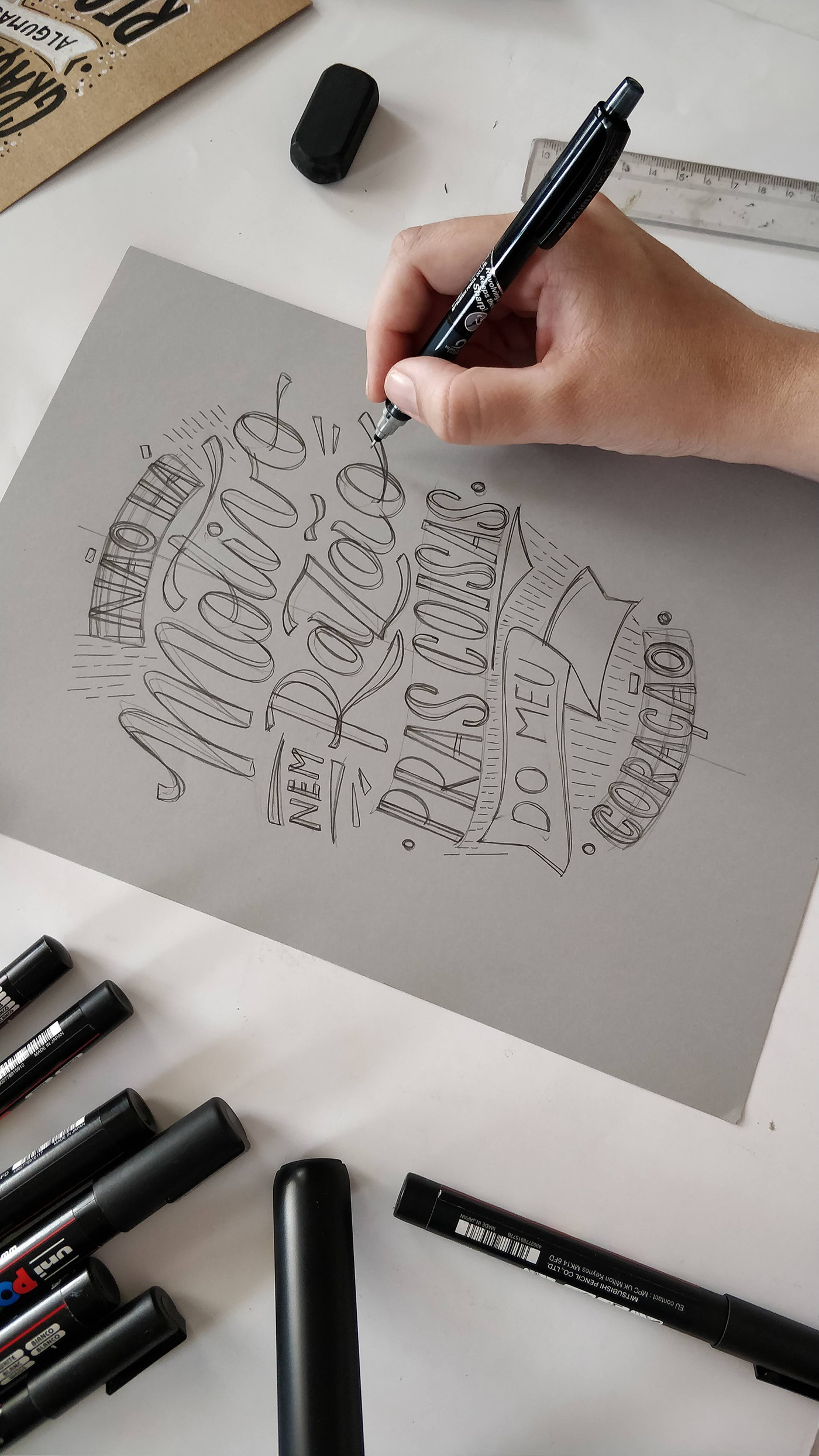 lettering type Calligraphy   typography   Handlettering