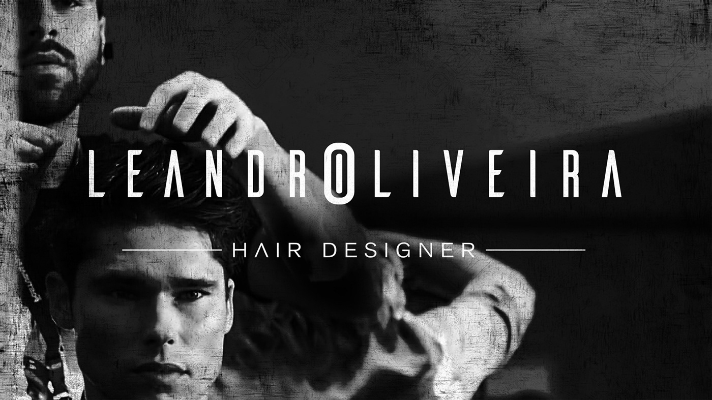 barber shop logo marca Logo Design Corporate Identity