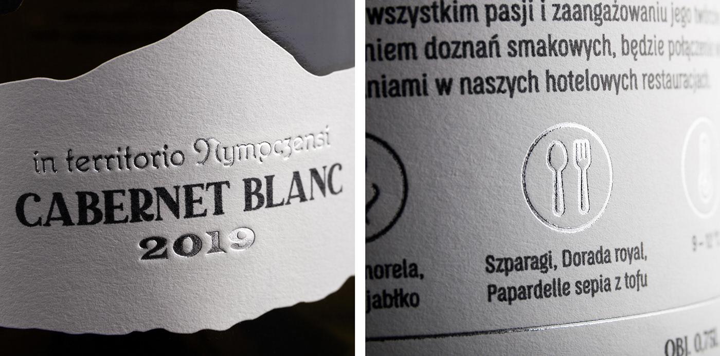 foxtrot foxtrot studio hotstamping label design labels packaging design wine Wine label Design Wine Labels wine range