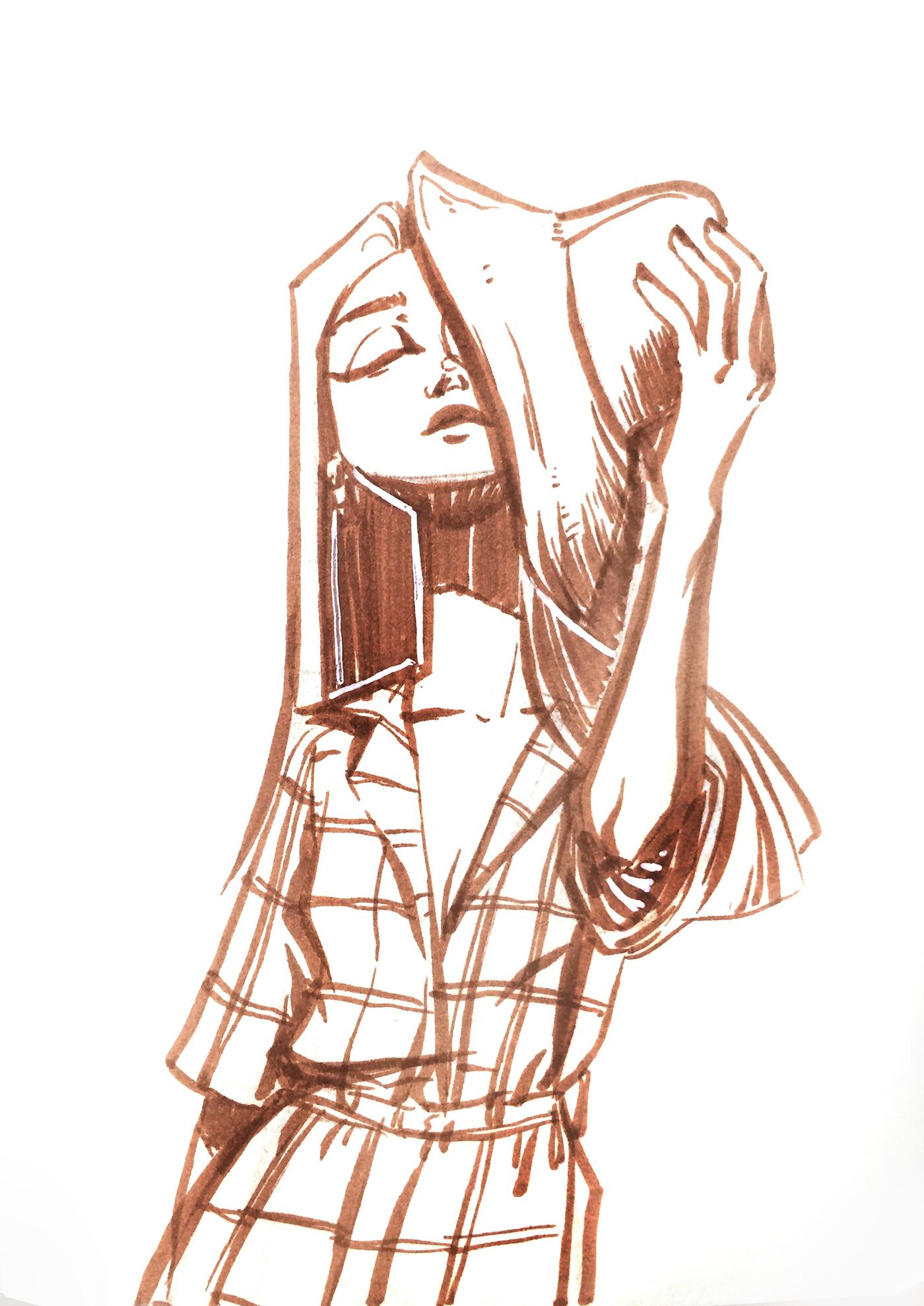inktober Inktober 2016 Drawing  art ink sketch sketchbook