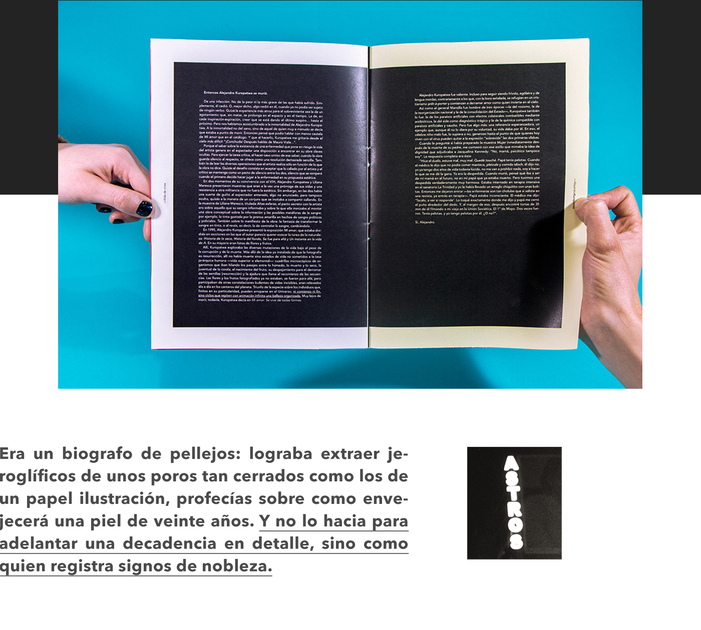 vida de vivos fasciculos editorial fascicles colección Collection maria moreno magazine interview entrevistas