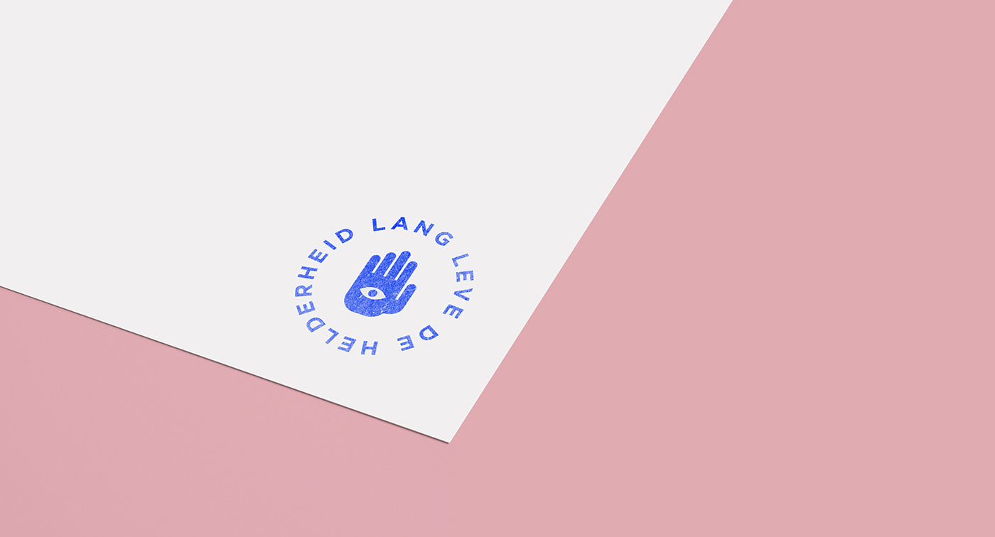 a4 branding  business card copywriter dutch identity letterhead Stationery