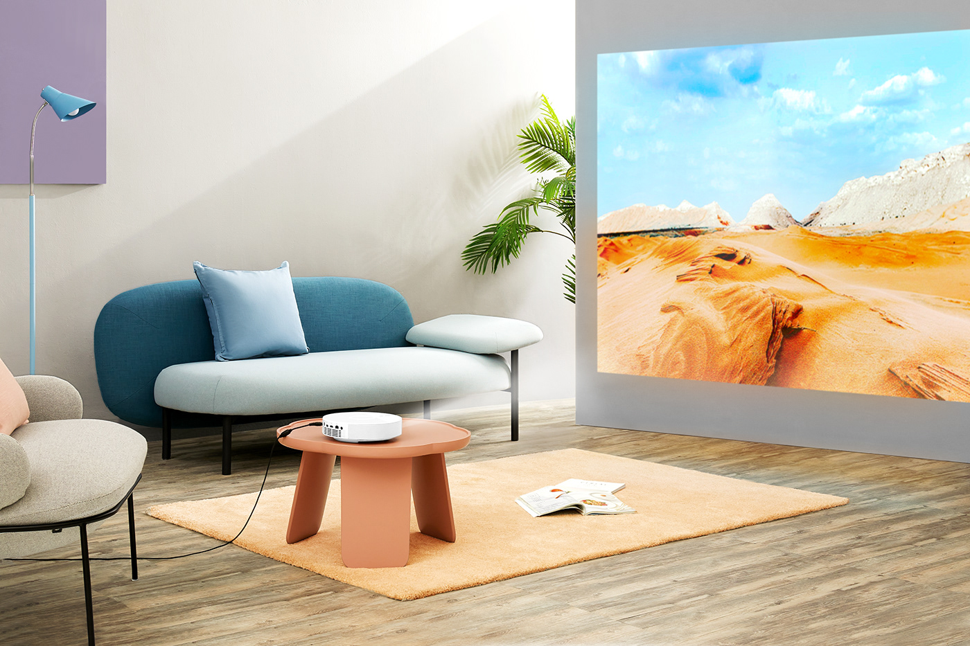 art direction  CMF Design commercial design high quality industrial Projector Renderings Smart visualization