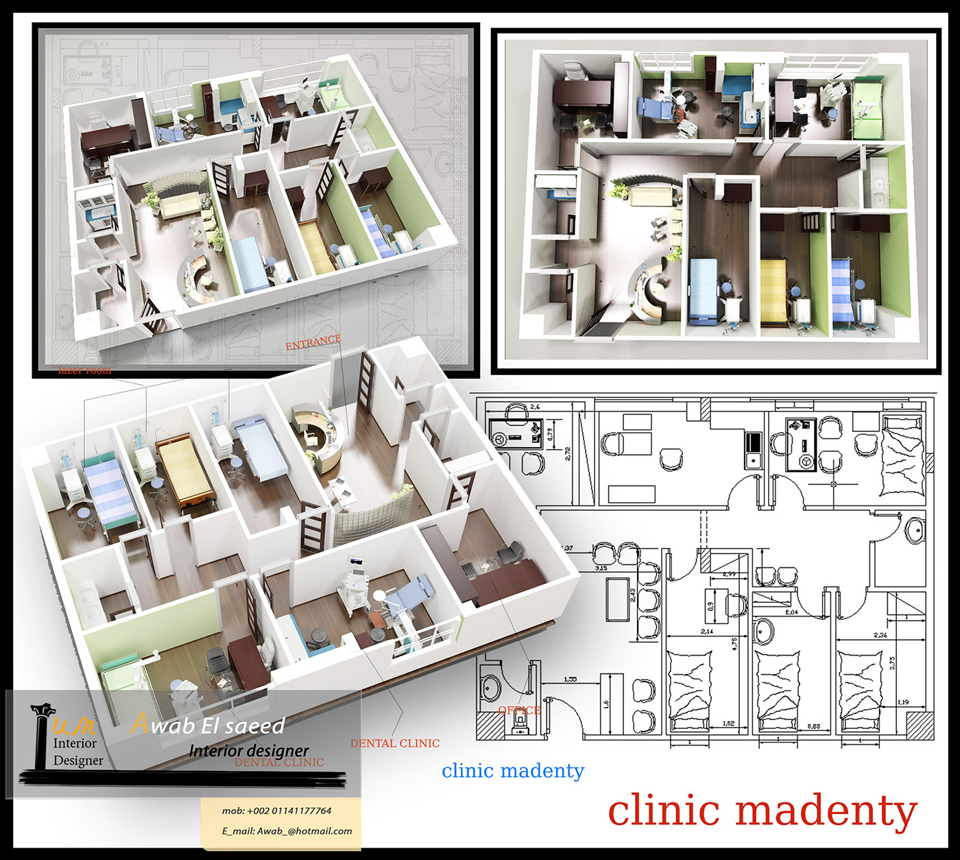 Clinic Center Madenty Rehab City On Behance
