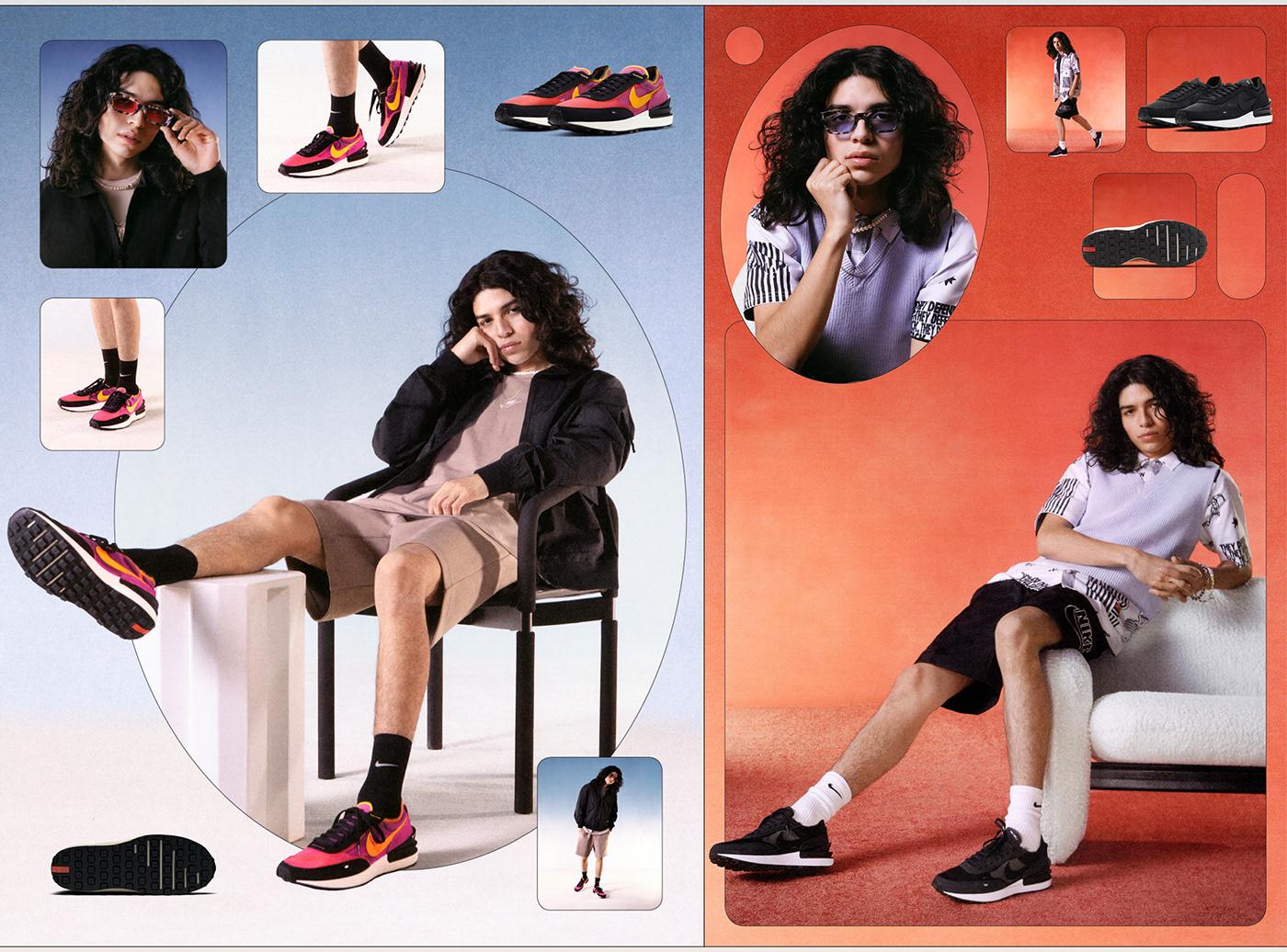 Fashion  footwear identity Logo Design