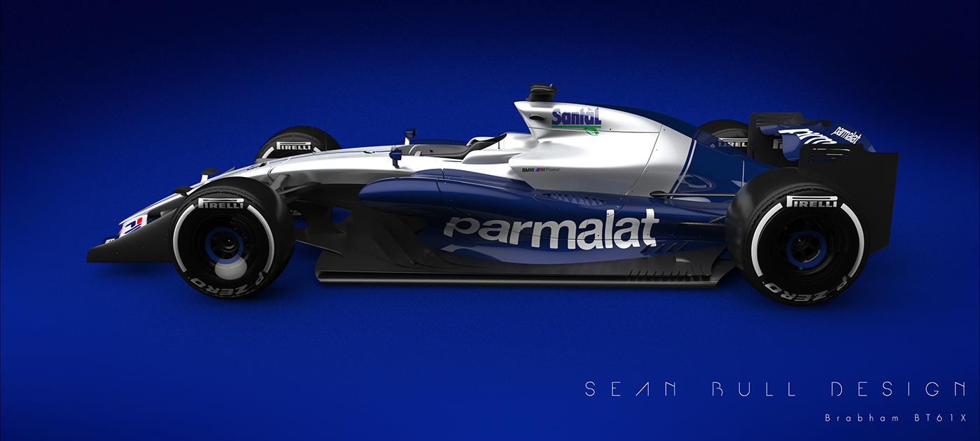Brabham BT61X F1 Concept on Behance