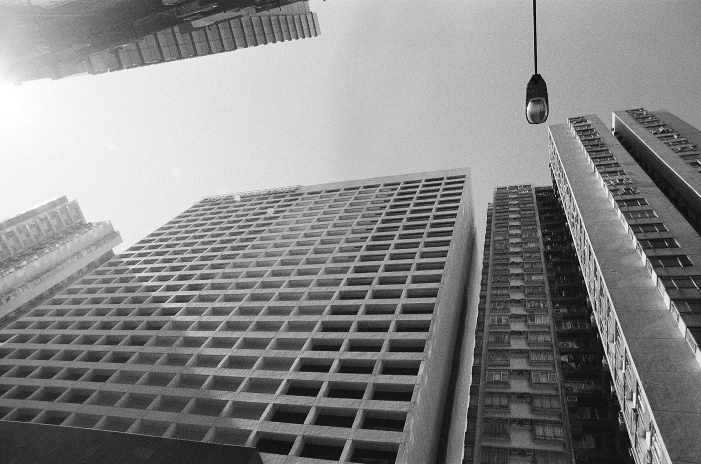 black and white Hong Kong Love reflection street photography