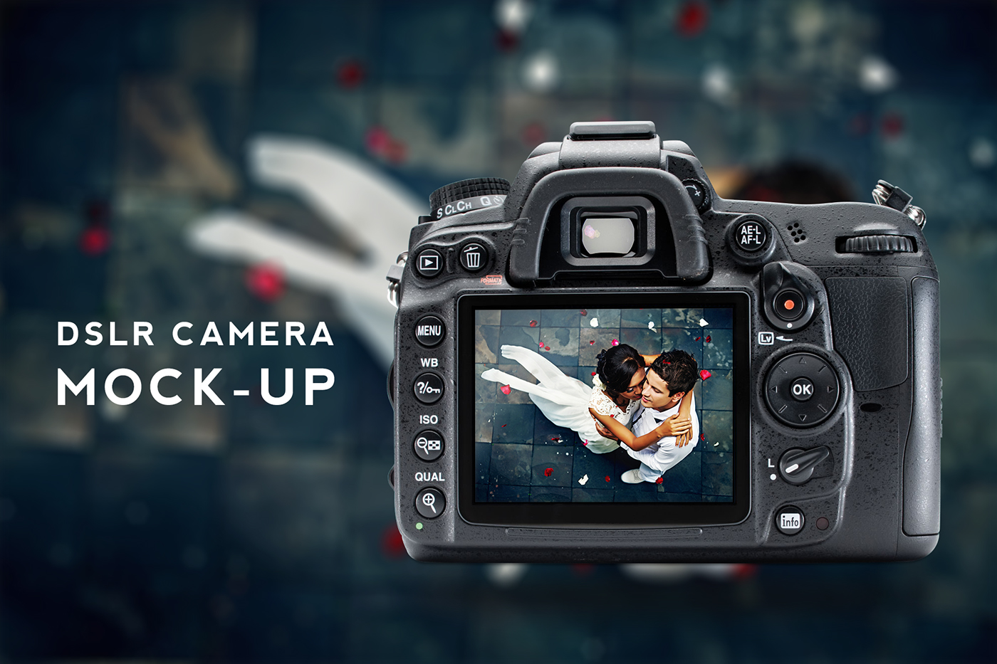 Free Dslr Camera Mockup Psd On Behance