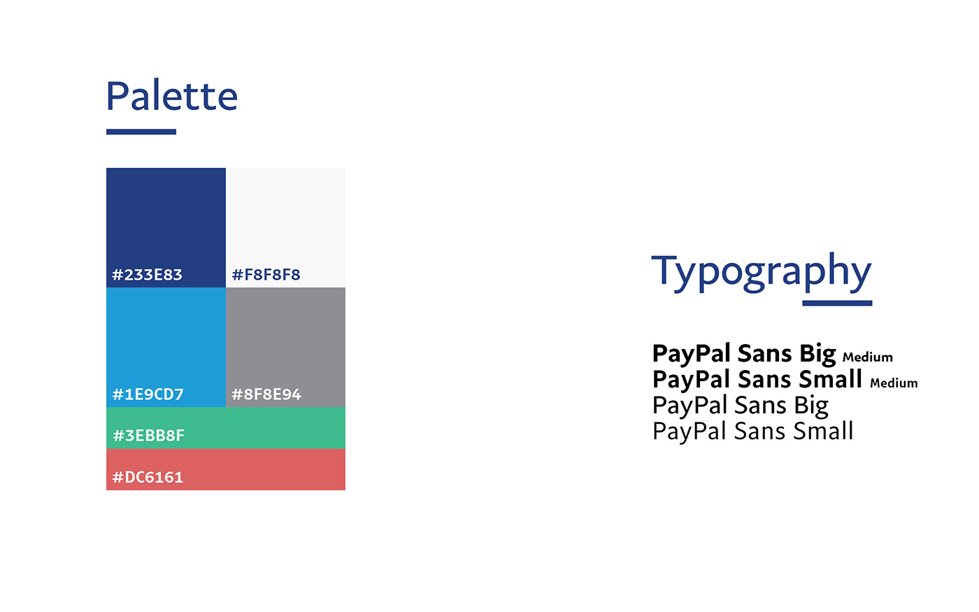 paypal app UI ux money banking Ecommerce redesign ios iphone