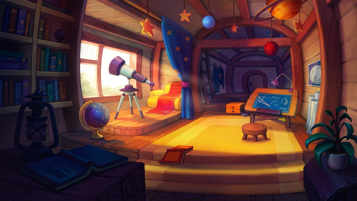 Image may contain: indoor, cartoon and screenshot