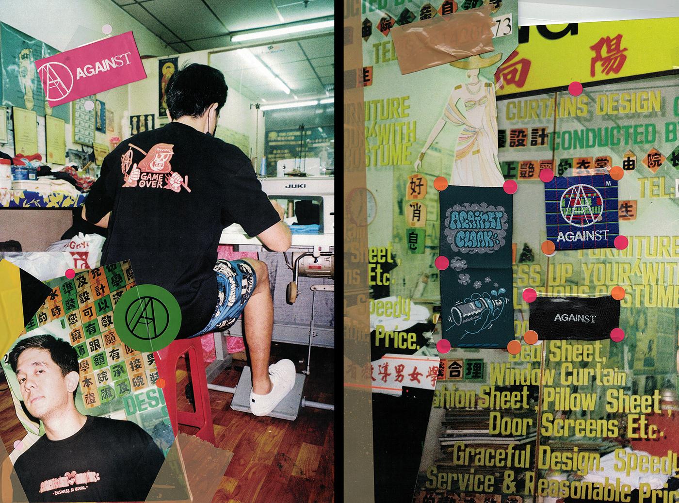 Against against lab cloakwork Graffiti hypebeast kuala lumpur malaysia streetwear