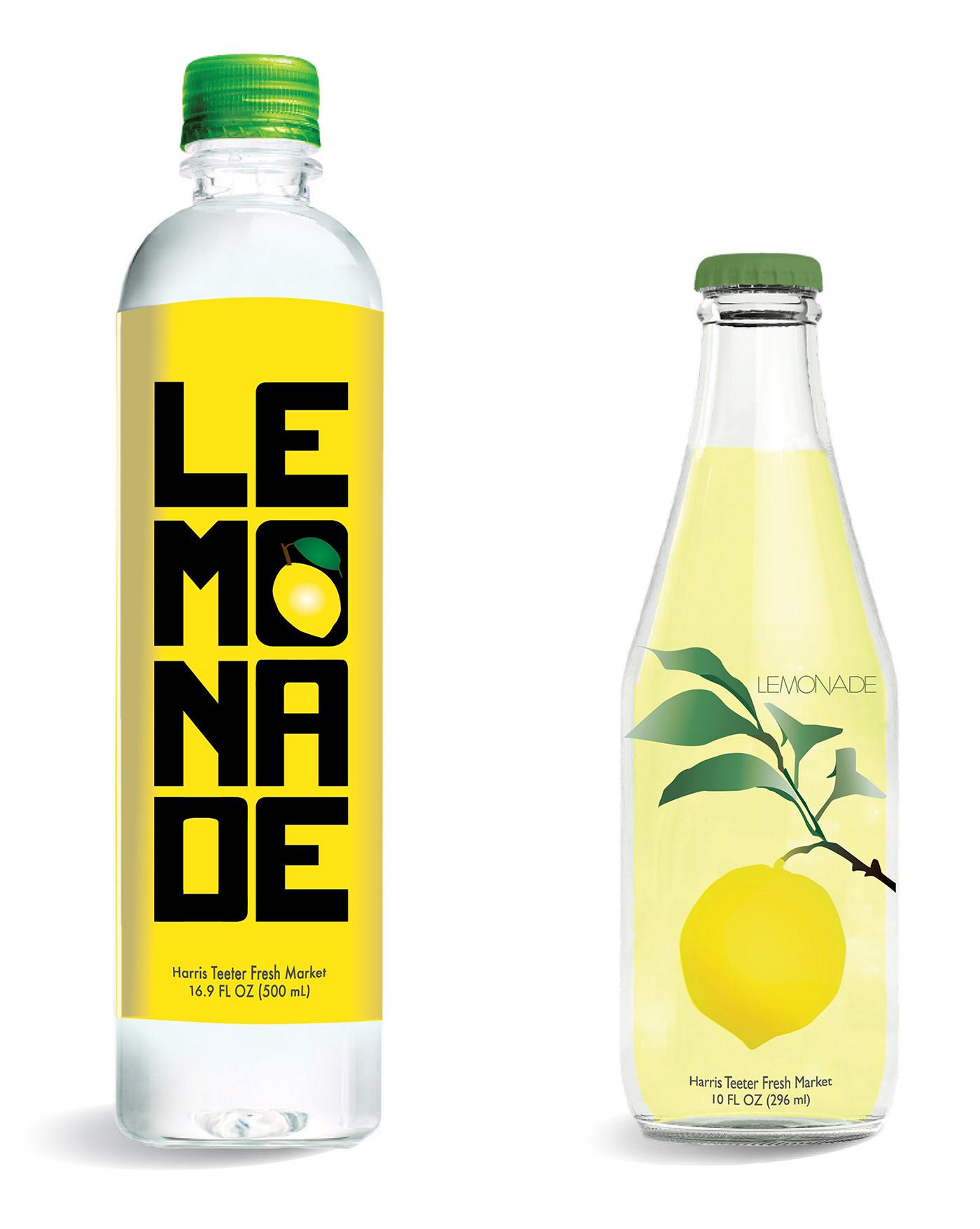 Labeling for Harris Teeter Lemonade on Behance