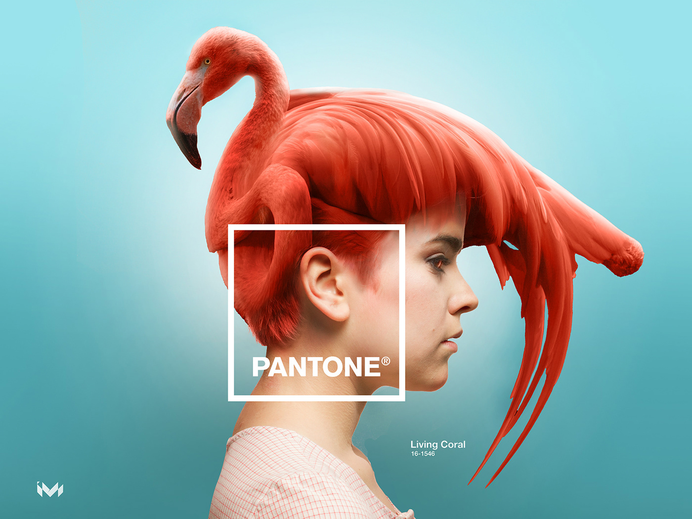 design,pantonecoloroftheyear,LivingCoral,Coloroftheyear,millennial,flamingo,ArtDirection,photoshop,composition