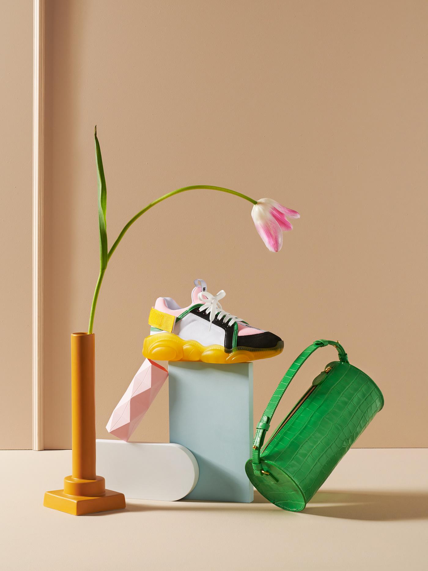 bag clean Fashion  leather minimal shoe shoes sneacker stillife studio
