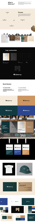 architecture brand branding  brick construction design graphic design