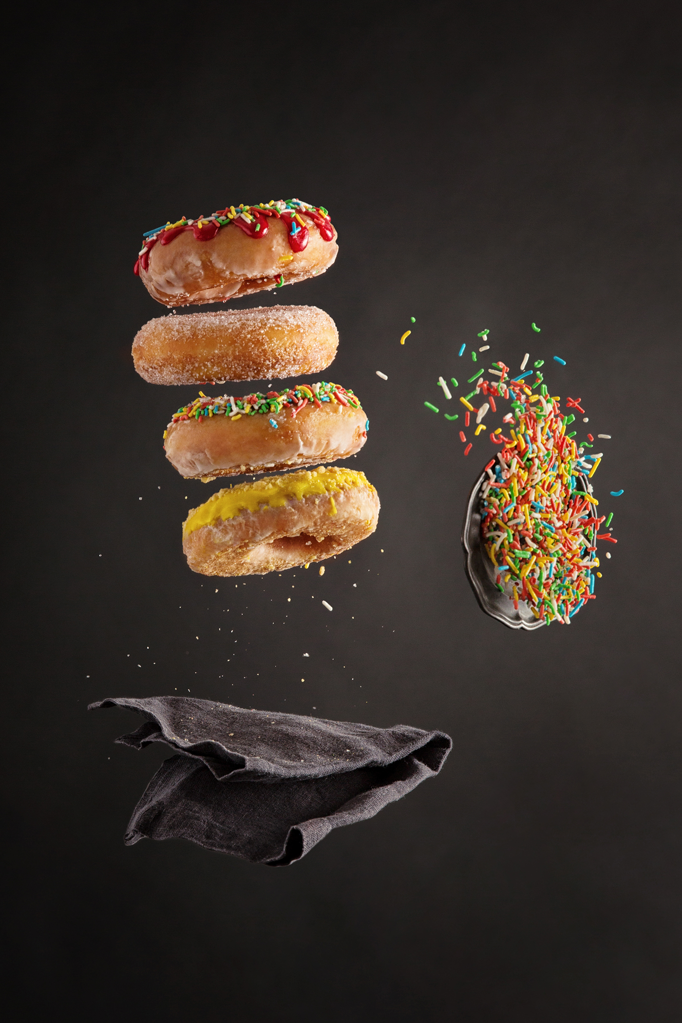 Flying Food Retouch On Behance