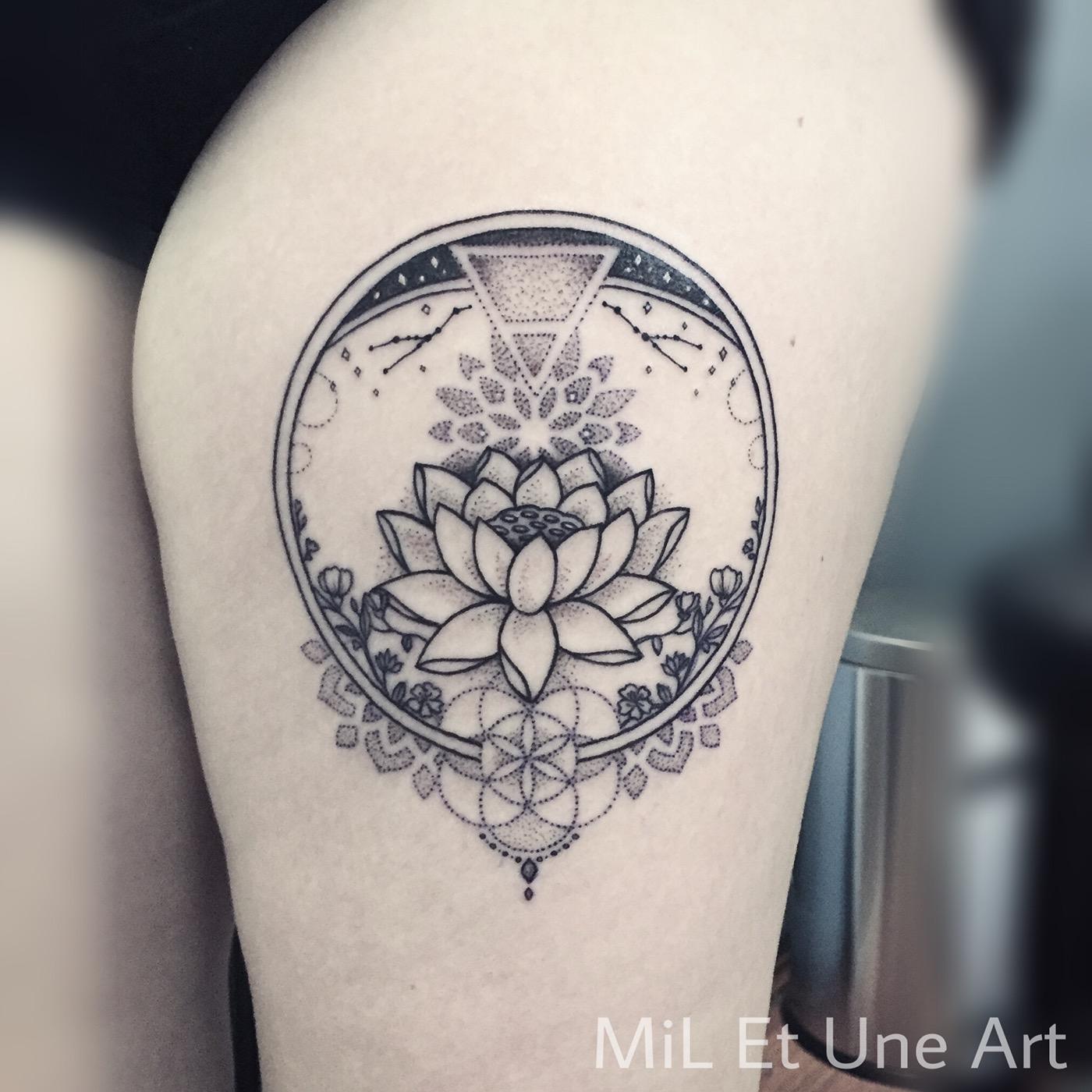 Lotus Tattoo On Behance