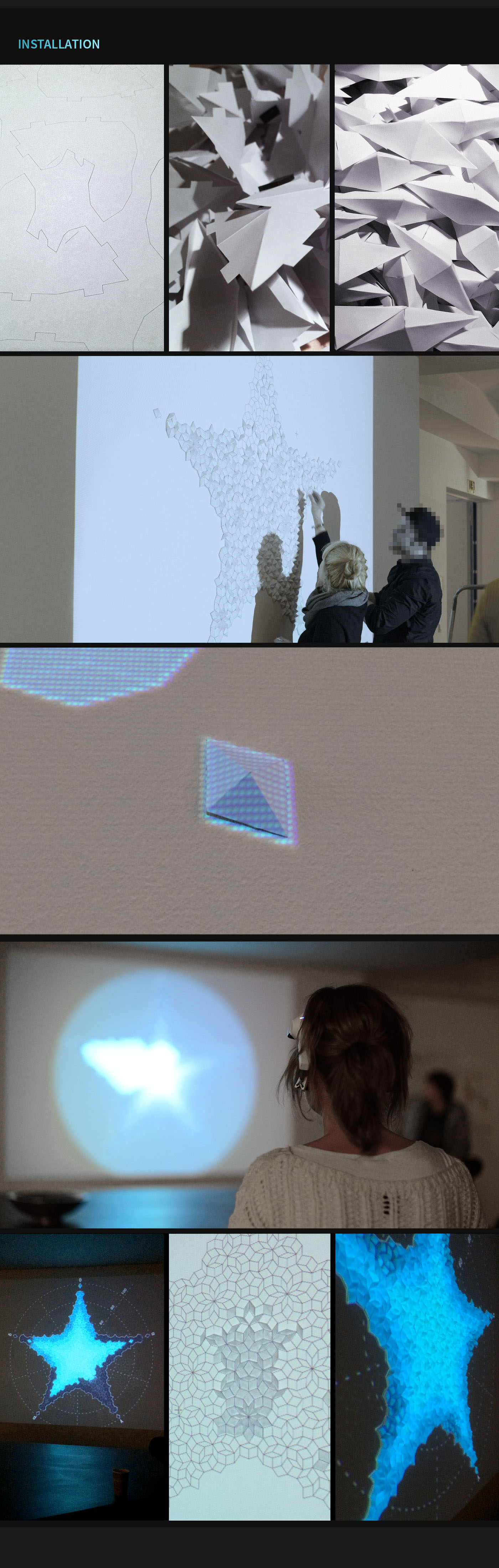 Creative Technology generative design projection mapping installation brain waves  Mindwave processing creative coding Playful