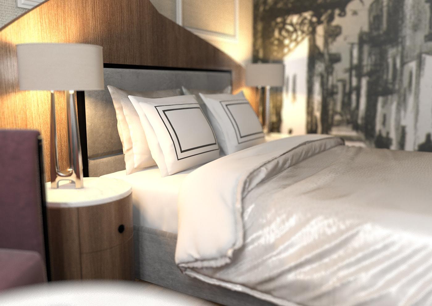 design Hospitality hotel room Interior
