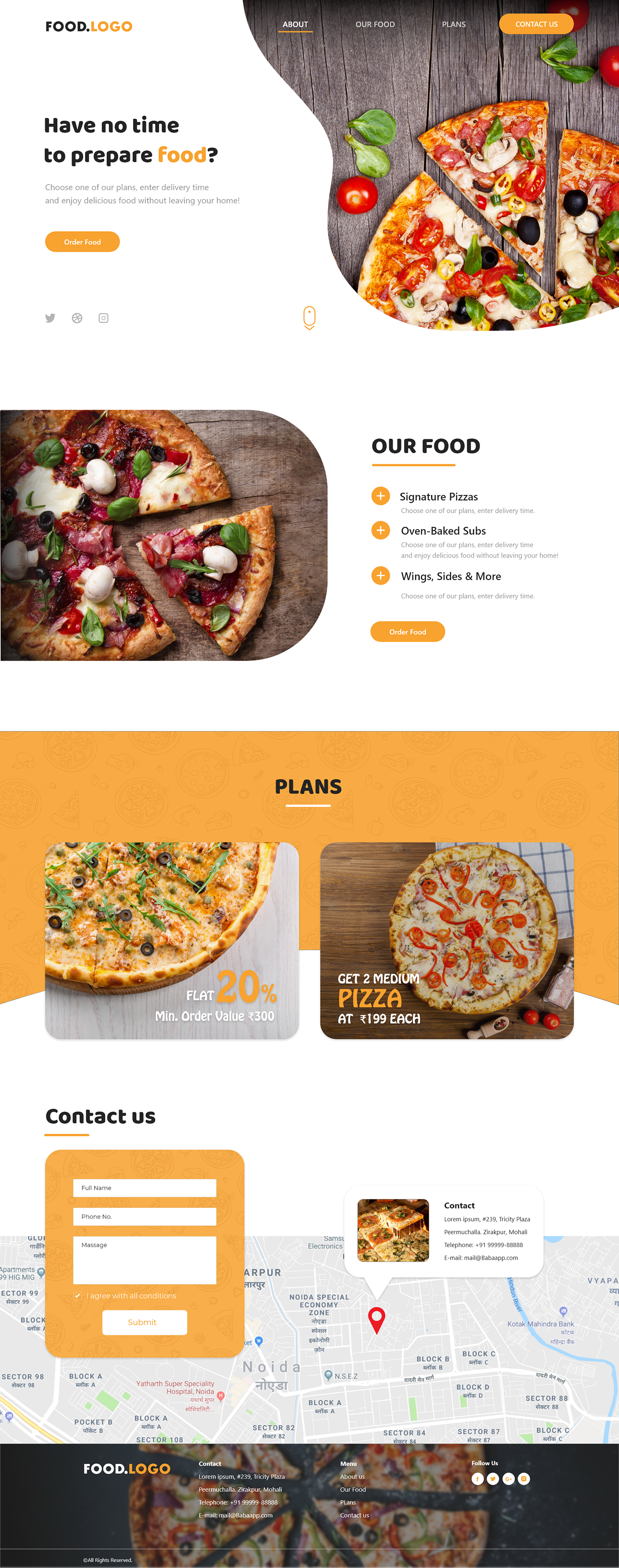 xd file free file food website free adobe xd file free food website